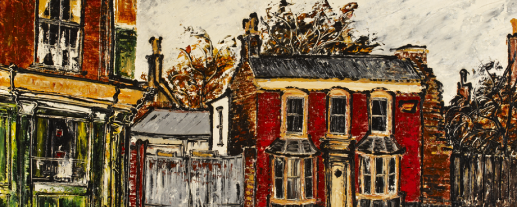 Small Red House, High Street, Bromley-By-Bow by Noel Gibson