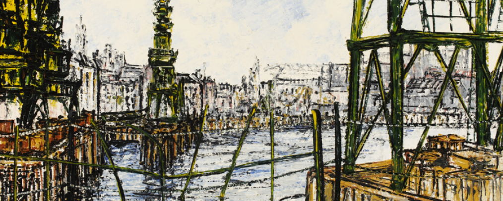 The Thames from Shadwell by Noel Gibson